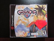 Grandia II Dreamcast Skies of Arcadia Phantasy Star Suikoden NEW COMPLETE MINT
