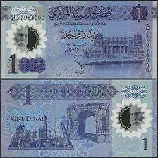 Libya Pnew 1 Dinar B550 2019 8th Annv Revolution Comm Issue Polymer @ EBS