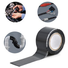 Rubber Silicone Repair Waterproof Bonding Tape Rescue Self Fusing Wire Black F T