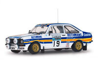 SUNSTAR 4497 4500 Ford Escort RS1800 rally cars Makinen 1980 Latvala 2012 1:18th