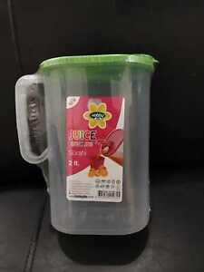 Quality 2 Liter Juice Drink Water Storage Jug Hobby Life Bpa Free √√