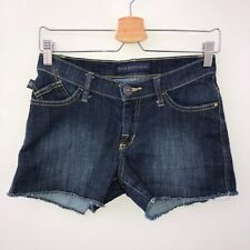 "Rock & Republic Jean Shorts Women's size 0 ""Hula"" denim cut-off dark wash"
