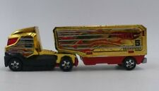 2012 HOT WHEELS TRACKIN' TRUCKS HAULIN' HEAT GOLD , RED & BLACK DIE CAST TOY