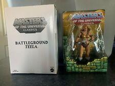 MOTUC Masters of the Universe Classics Battleground Teela New MINT MIB