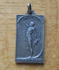 Belgium National Athletics Championships 1907 Silver 2nd Place Winner's Medal