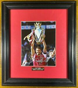 Tony Adams Signed & Framed Limited Edition 32/50 Arsenal Photo - 100% Genuine