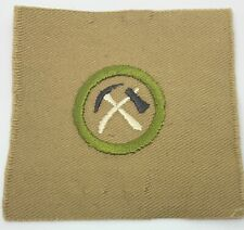 Boy Scout Merit Badge Type AA Pioneering #1 (1-5)