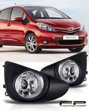 2012 2013 2014 Toyota Yaris Fog Lights 3/5 Doors Hatchback Front Lamps Full Kit