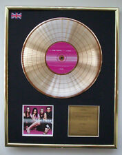 THE CORRS IN BLUE CD GOLD DISC RECORD DISPLAY FREE P&P!