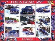 Congo James Bond/Cars/Aston Martin/Transport/Tank/Movies/Motoring sht (cs) b5927