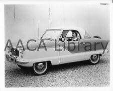 1957 Nash Metropolitan Two Door Hardtop, Factory Photo (Ref. #57161)
