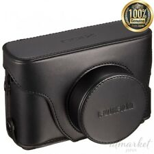 Leather Digital camera case for FUJIFILM X100S black F LC-X100S BT from JAPAN