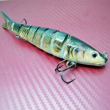 142mm Multi Jointed Hard Fishing Lure Bait Segment Swimbait Fishing Tackle Pike