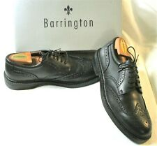 Barrington Roosevelt Wingtip Classic Dress Leather Oxfords w/Box 9.5D Unused?