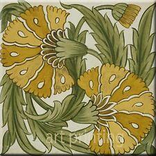 Art Nouveu William de Morgan  Ceramic Wall Tile 6 X 6 Inches Reproduction #17