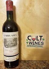 1964 Carruades de Chateau Lafite Rothschild Pauillac Bordeaux wine. Listing 2/2