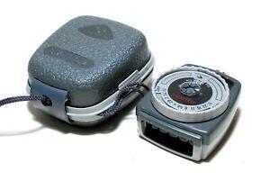Gossen Sixtino 2 Selen Belichtungsmesser mit Tasche - light meter (sehr gut)