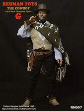 """1/6  REDMAN TOY Model Toy -The Cowboy The Good Clint Eastwood 12"""" Figure RM007 G"""