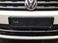 VW Volkswagen License Plate Holder Frame  Genuine accessories