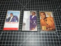 3 Classic Funk & Soul Music Vintage Audio Cassette Tapes By Freddie Jackson