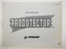 Probotector   Anleitung Handbuch Manual   Nintendo NES   NES-77-NOE