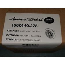 "AMERICAN STANDARD 1660140.278 ""EXTENDER"" BODY SPRAY-SQUARE- LEGACY BRONZE"