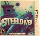Steel Diver Nintendo 3DS Brand New & Factory Sealed Free USA 1st Class Shipping