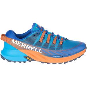 Merrell Agility Peak 4 Herren Blau Outdoor Trekking Trail Running Schuhe