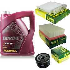 MANNOL 5L Extreme 5W-40 Motor-Öl+MANN-FILTER für Nissan Micra III K12 1.5 dCi