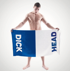 #Winning Mens Novelty Dick/Head Bathroom Towel