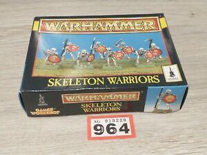 Warhammer Empty Box Fantasy Skeleton Warriors Lot 964