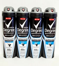 4x Degree MotionSense Dry Spray 48H Antiperspirant Deodorant Black+White 3.8 oz