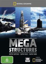 National Geographic -  Megastructures (3-Disc Set) New & Sealed, Region: 4