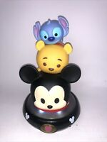 Disney Tsum Tsum Mickey Pooh Stitch Night Light Tower 2016