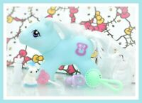 ❤️My Little Pony MLP Vtg G1 Style HQG1C Playful Newborn Baby NIPPER Custom❤️