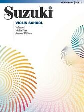 Suzuki Violin School: Violin Part Vol. 1 by Dr. Shinichi Suzuki