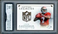 GMA 10 Gem Mint COLIN KAEPERNICK 2011 Topps Legends ROOKIE CARD!