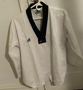 Adidas World Taekwondo Federation Size 2 (160) Shirt Pants 170cm