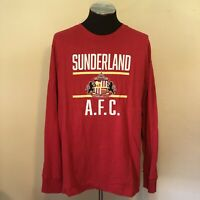 NWT Sunderland AFC England Soccer OTS Long Sleeve T-Shirt Size XL Red New W/ Tag
