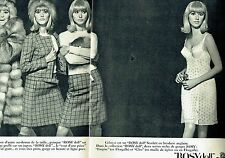 Publicité Advertising 067  1965  Rosy Doll sous vetments  lingerie