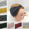 Women Turban Twist Knot Head Wrap Headband Twisted Knotted Hair Band Elasticity