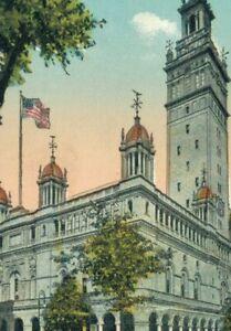 USA New York Madison Square Garden Vintage Postcard 07.62