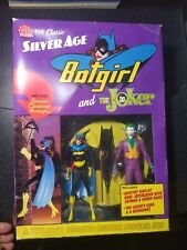 DC DIRECT THE CLASSIC SILVER AGE BATGIRL AND THE JOKER DELUXE ACTION FIGURE SET