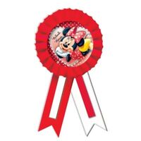 Disney Minnie Mouse Party Game Winner Rosette Award Ribbon with Confetti -995239
