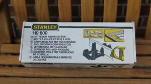 Stanley Mitre Box and Saw