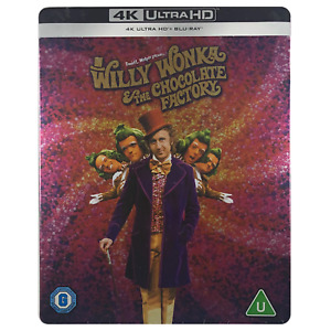 Willy Wonka & The Chocolate Factory 4K Steelbook - UK Release Ltd Edition