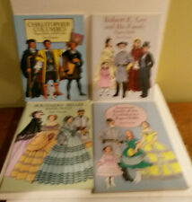 Southern Belles Confederacy Robert Lee Columbus Tom Tierney paper dolls lot 4