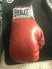 MIKE TYSON Hand Signed Everlast BoxIng glove