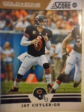 Jay Cutler 2012 Score Gold Zone Chicago Bears