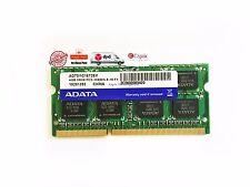 Adata 4GB 2Rx8 PC3-10600S-9-10-F1 SODIMM DDR3 1333MHz Laptop Memory